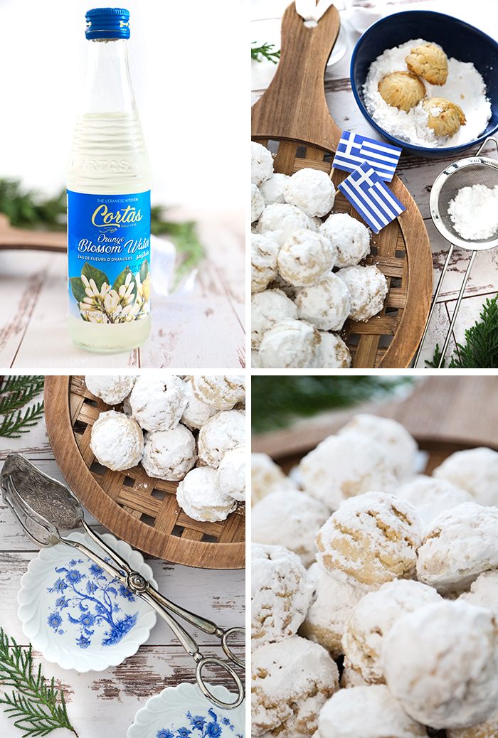 Greek Christmas Cookies Kourabiedes