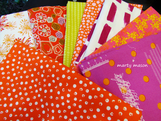 Building a fabric stash with fabric you love - Marty Mason