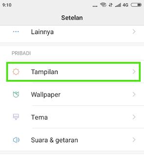 Cara Mengatur Ukuran Font Pada HP Android Xiaomi