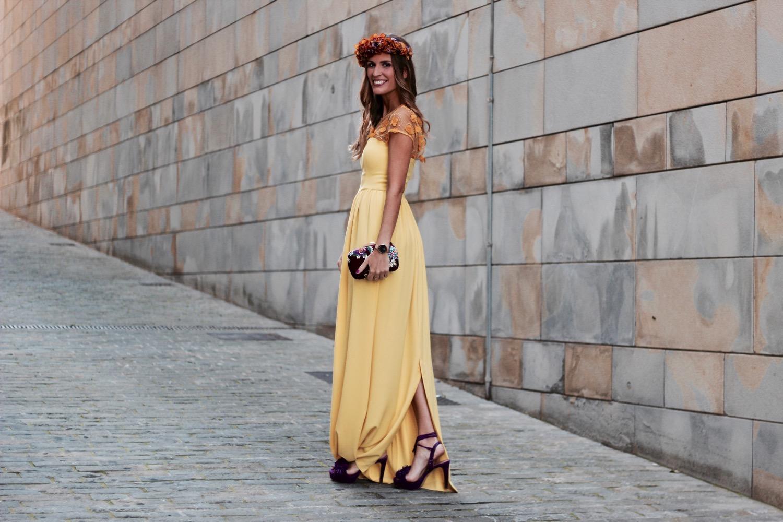 vestido invitada largo