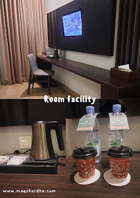 fasilitas kamar hotel santika sukabumi