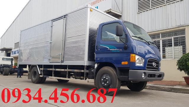 Xe tải Hyundai 7 tấn 110sl thùng kín
