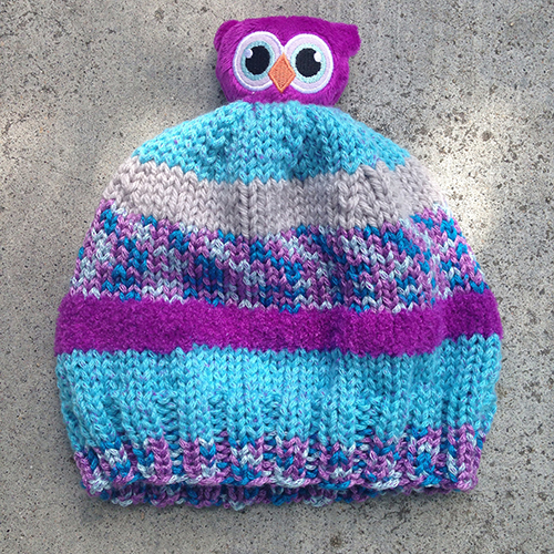 Owl Hat for the Bunny