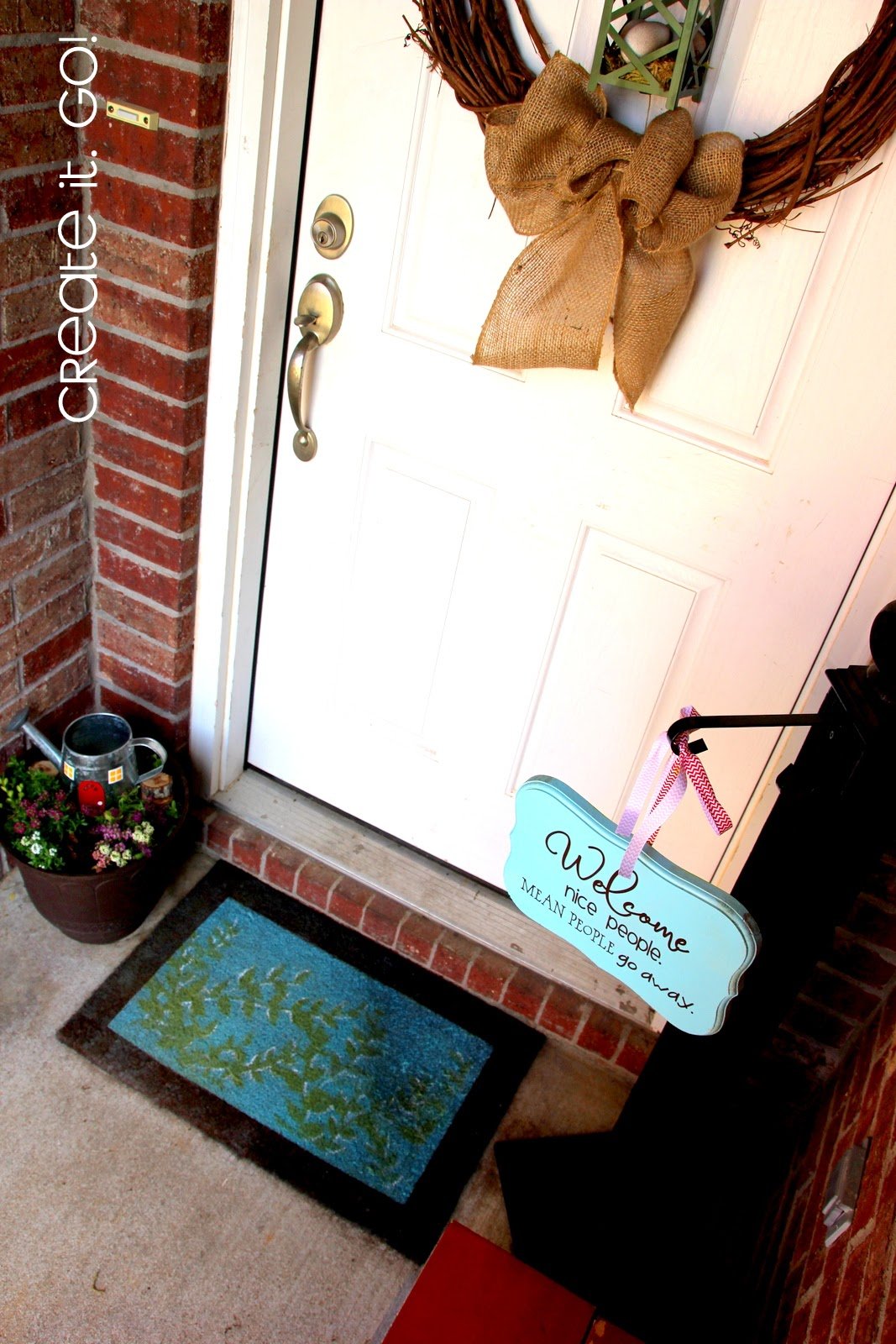 Silhouette Cameo, Silhouette Studio, custom door mat, door mat, DIY, do it yourself