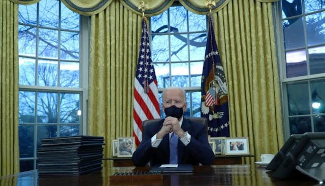 Biden asumió la presidencia de EEUU