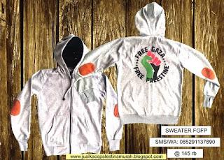Daftar Harga Sweater Palestina Murah