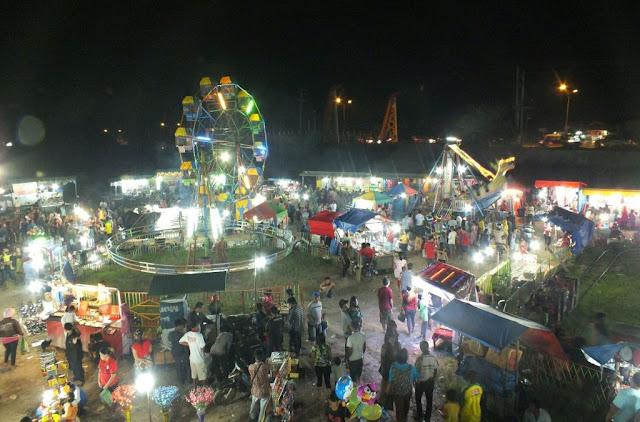 pasar malam di lapangan tanjung morawa 2014