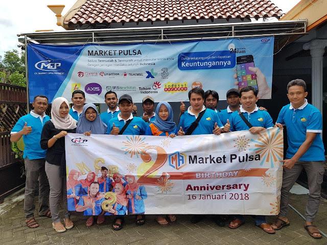 Widya Ayu Lusiana, S.Pd Direktur Market Pulsa CV. Market Cipta Payment