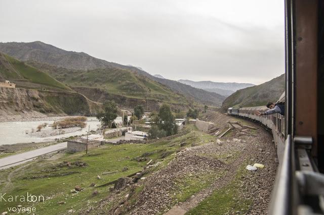 Iran, pociąg, Andimeszk