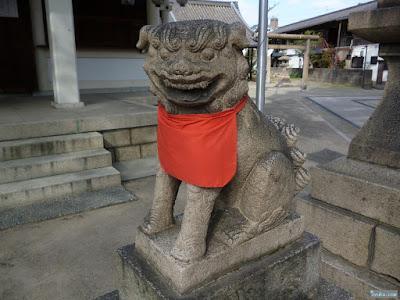 野里住吉神社狛犬