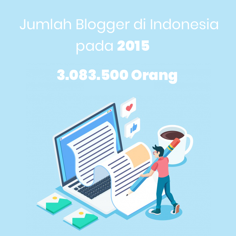 data jumlah blogger indonesia