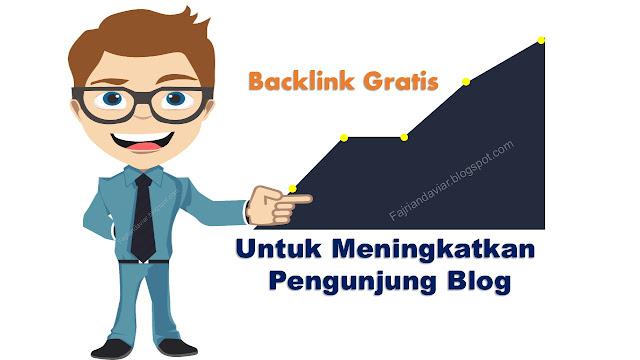 backlink gratis, backlink berkualitas, meningkatkan pengunjung blog,
