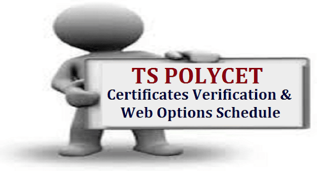 TS State, TS Admissions, TS POLYCET, Web Counselling Schedule, TS Web Portals, Certificate Verification, Counselling
