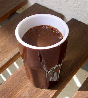 Un bon chocolat chaud  light