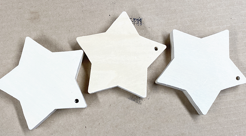 dollar tree wooden stars