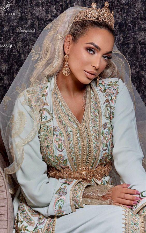 caftan mariage moderne vente france
