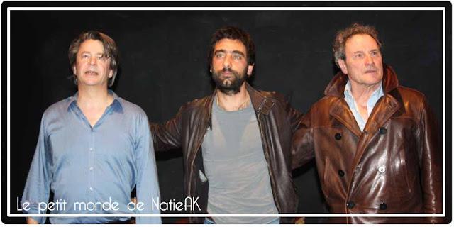 Thibault de Montalembet, Charif Ghattas et Francis Lombrail dans Dépendances