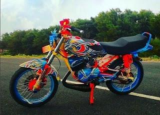 Yamaha RX King dijual tahun