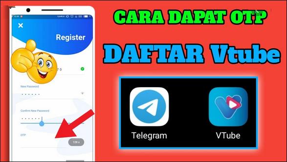 Cara Daftar Vtube Di Telegram Gampang Simpel Banget