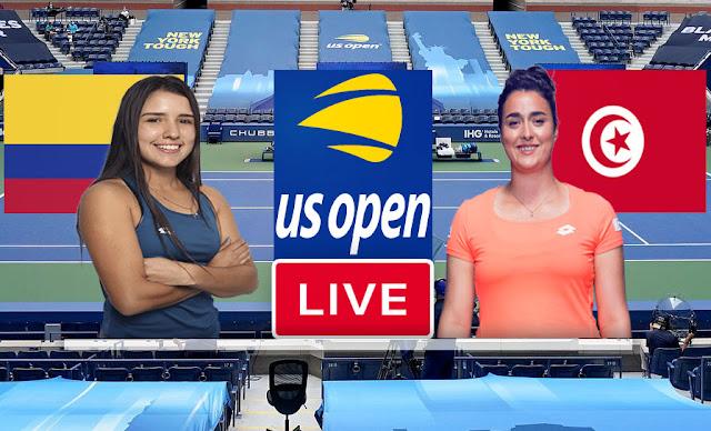 Match Tennis En Direct Ons Jabeur vs María Camila Osorio Serrano, US Open 2021