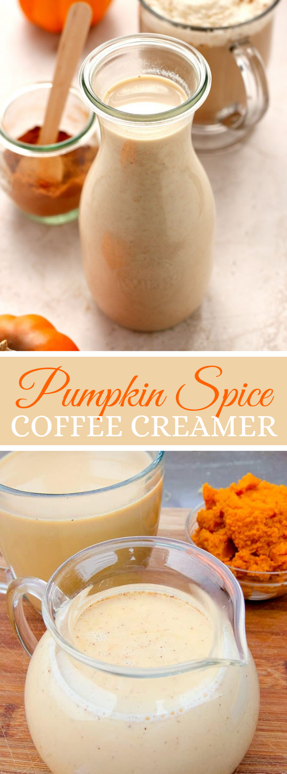 Pumpkin Spice Coffee Creamer #drinks #coffeedrink