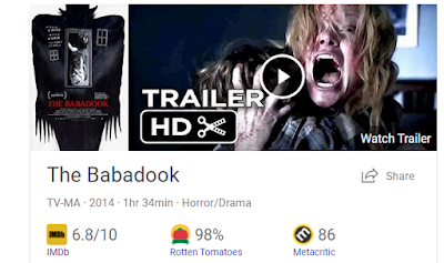 Bing.com results for Babadook 2014