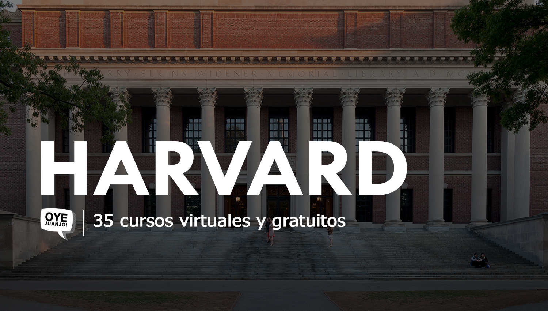 35 Cursos Online Gratis Certificados Por Harvard