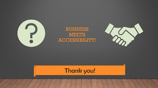 Business meets accessibility