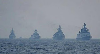 Indian Navy Joint Exercise