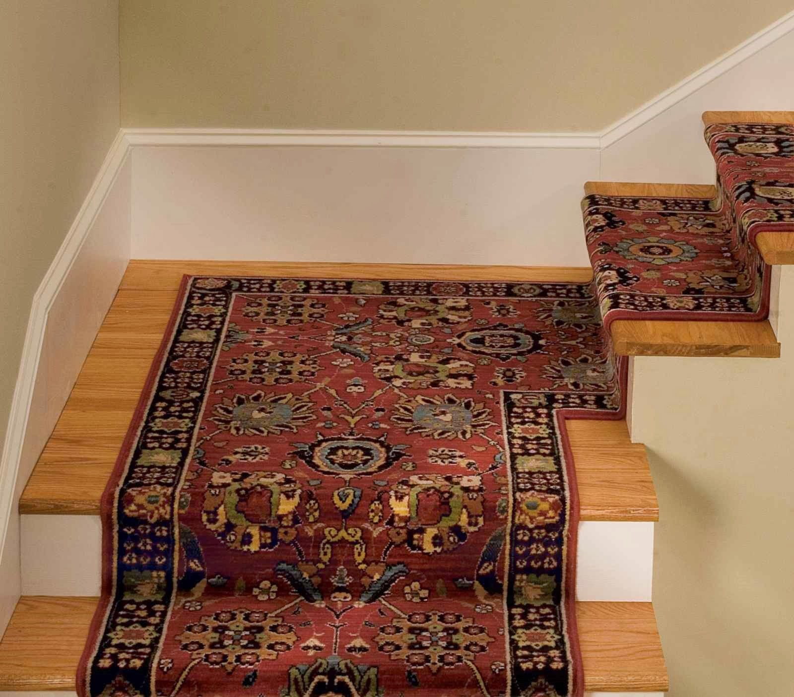 Carpet stair treads and things to remember when purchasing ...