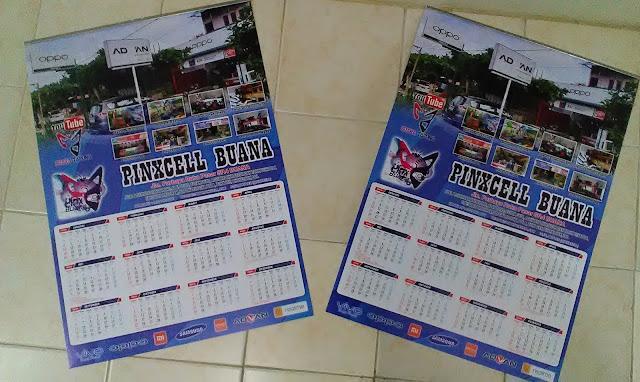 Kalender Dinding Toko
