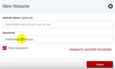 000webhost would add name to your website by default