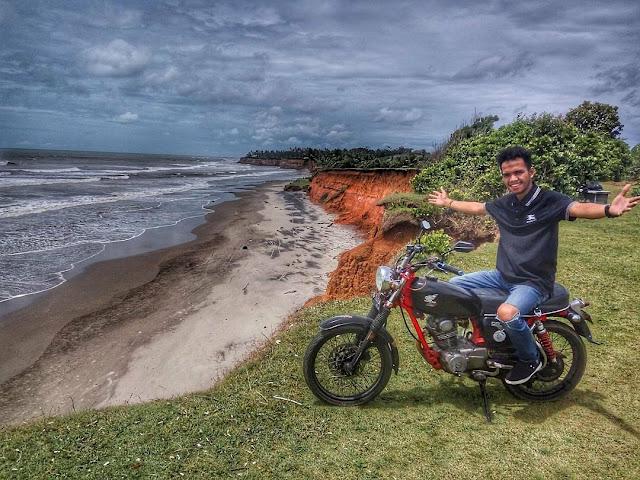 padang betuah beach tourist destinations in bengkulu indonesia