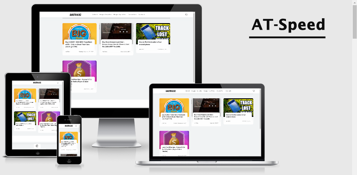 at-speed blogger template