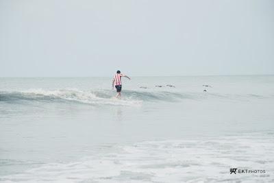 chame banks, playa caracol, surfing, panama
