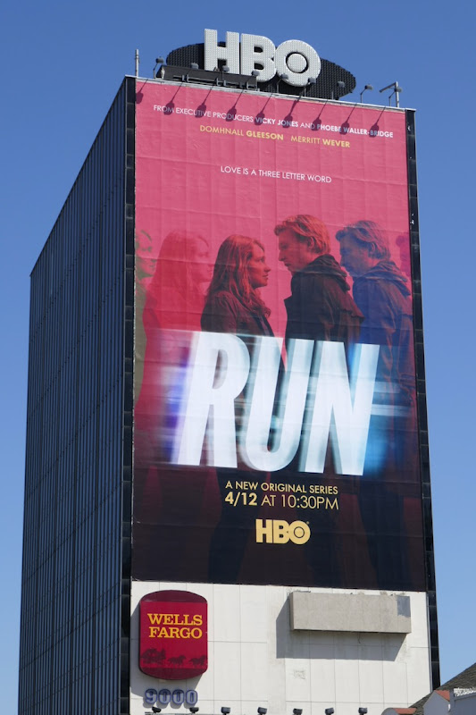 Giant Run series premiere billboard