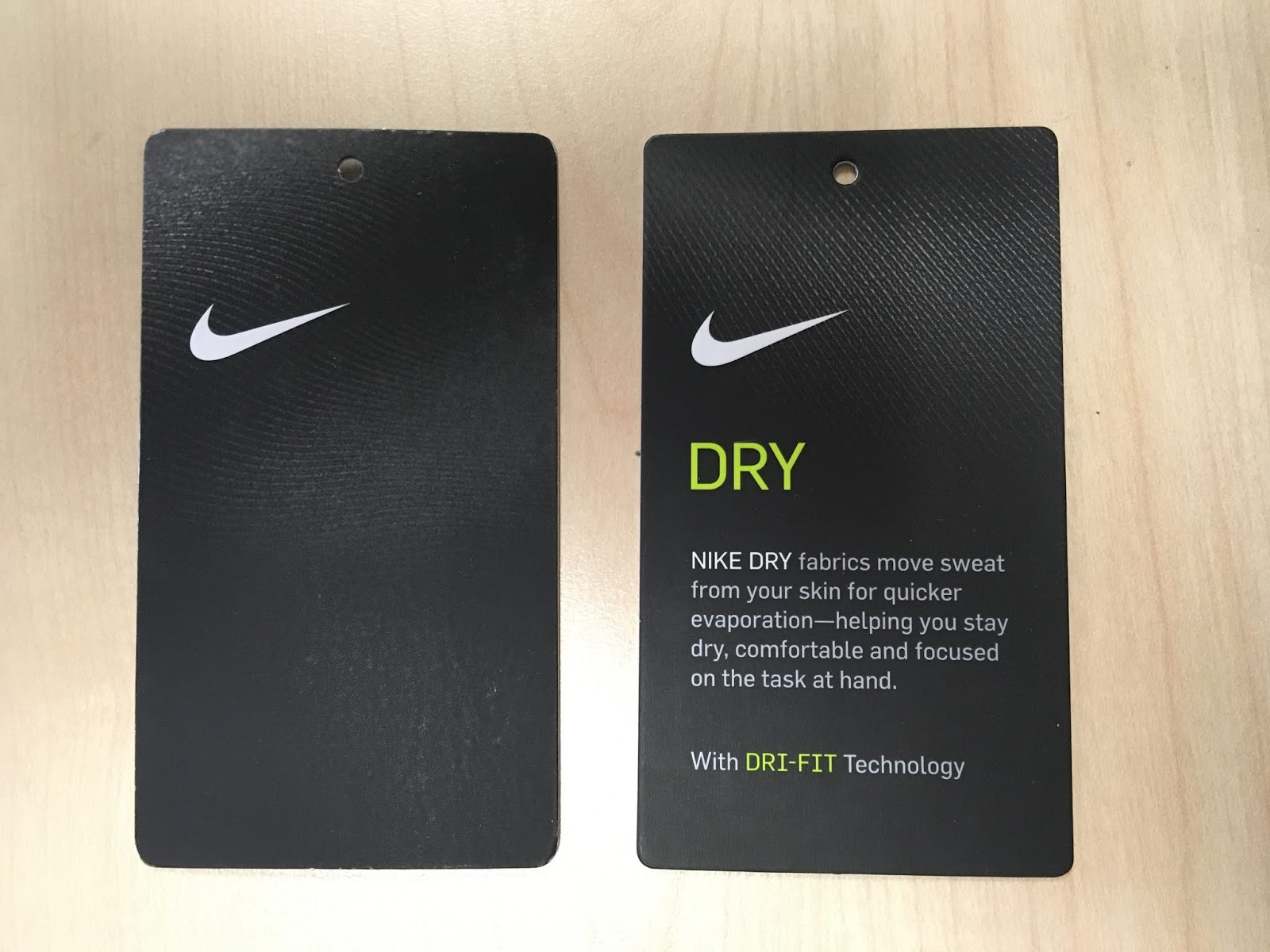 buy online 7cd34 4c13d Hang Tag Review  42 - Nike Dry 2 Piece Set