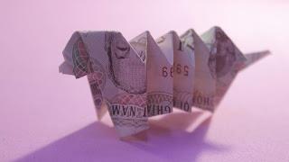 Hướng dẫn cách gấp con chó bằng tiền giấy đơn giản và độc lạ