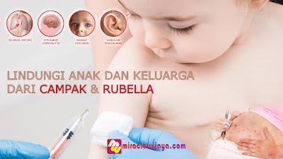 Lindungi Anak dan Keluarga Dari Campak & Rubella - Imunisasi MR