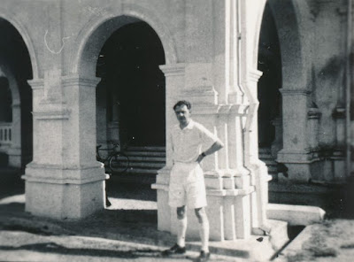 Anthony Burgess in Malaya in the 1950s (Photo Anthony Burgess Foundation)