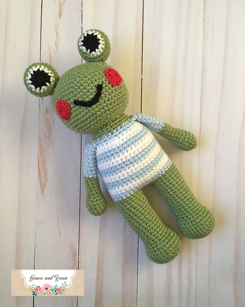 Amigurumi Frog with Glasses Free Pattern - Amigurumi Free Patterns -   1003x800