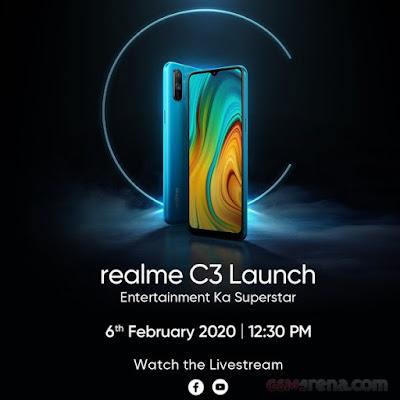 Realme-C3-poster