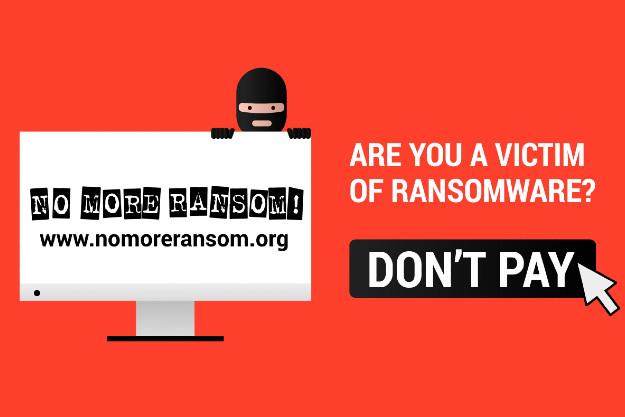 No More Ransom! - Μην πληρώσεις ποτέ για ξεκλείδωμα των δεδομένων σου