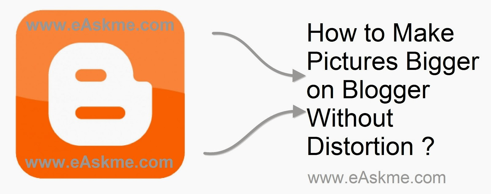 How to Make Pictures Bigger on Blogger Without Distortion : eAskme
