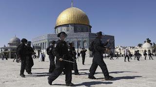 Yahudi Radikal Yerobos Masjid Al-Aqsa Rayakan Festival Purim