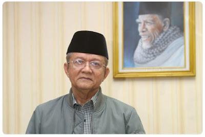 Dr. Anwar Abbas, Ketua PP Muhammadiyah dan Sekjen MUI