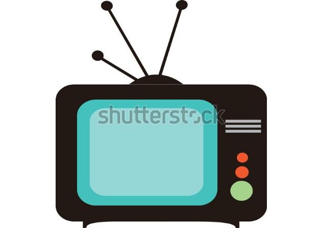 illustration design logo tv