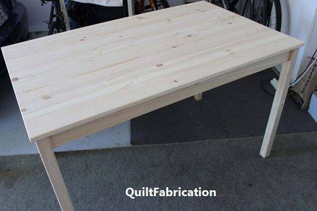 Ikea Ingo table unfinished