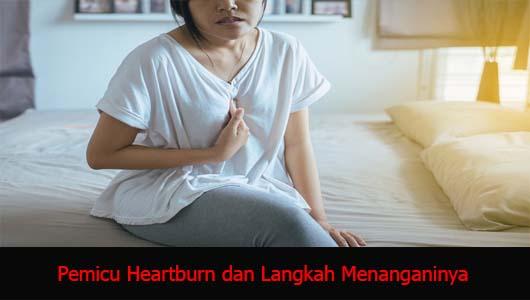 Pemicu Heartburn dan Langkah Menanganinya