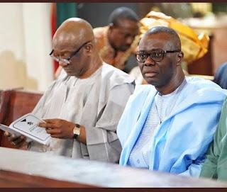 Jimi Agbaje & Jide Sanwo-Olu